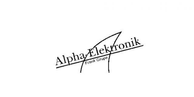 Alpha Elektronik
