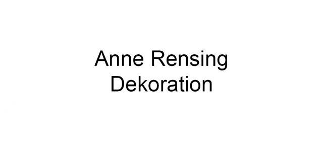 Anne Rensing Dekoration