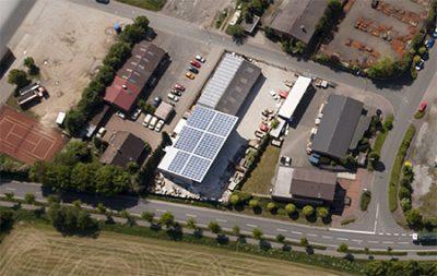 Unsere Verwaltung nebst Material- und Baustoffhof